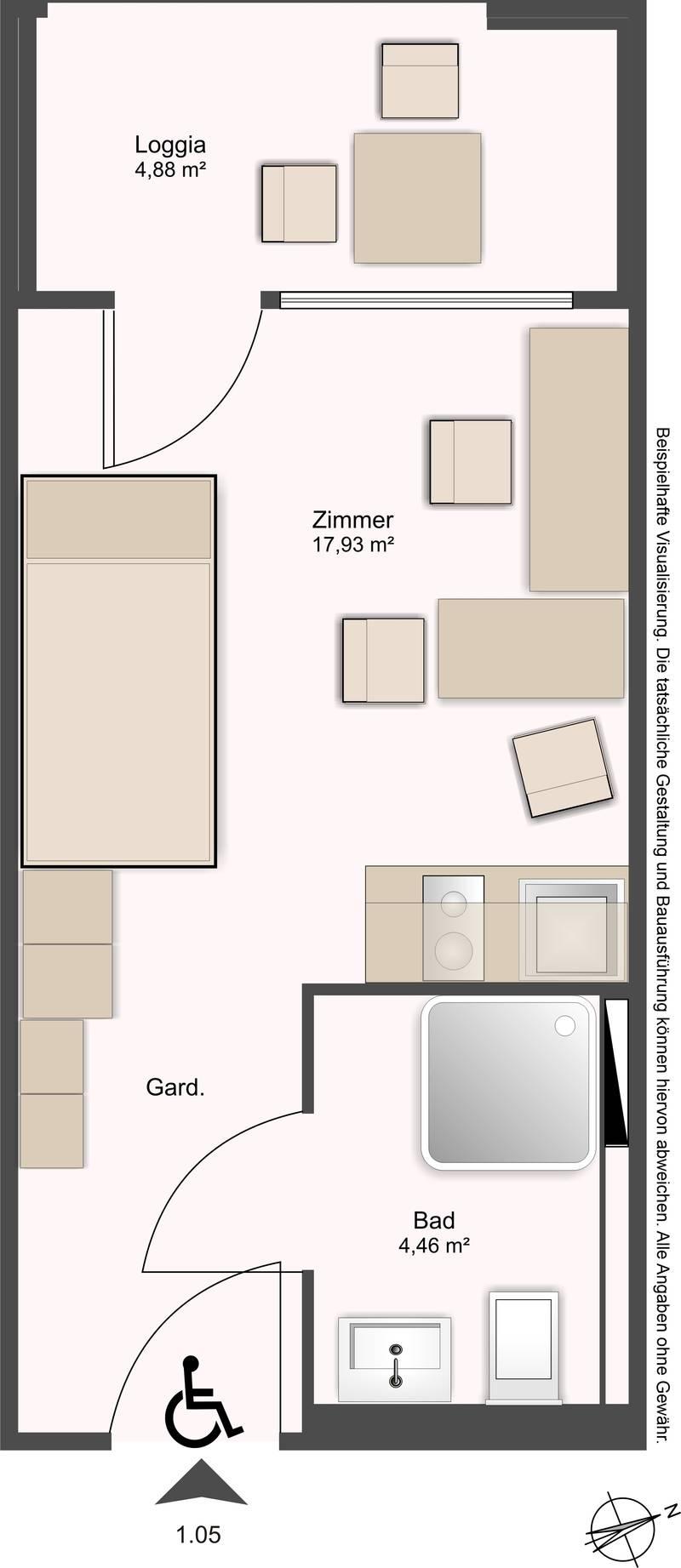 studentenapartments campus konstanz. Black Bedroom Furniture Sets. Home Design Ideas
